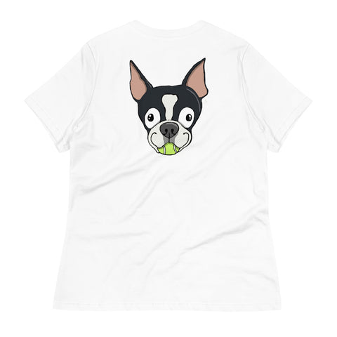 Boston Terrier Women's Relaxed T-Shirt
