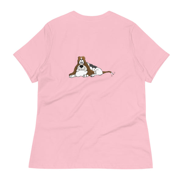 Basset Hound Women's Relaxed T-Shirt