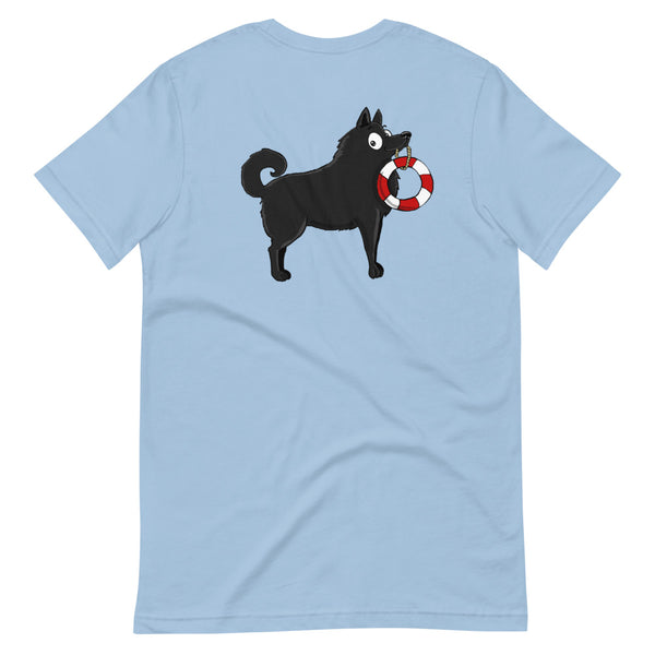 Schipperke With Tail Short-Sleeve Unisex T-Shirt