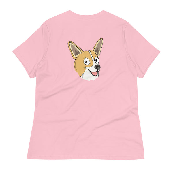 Sable Corgi Women's Relaxed T-Shirt