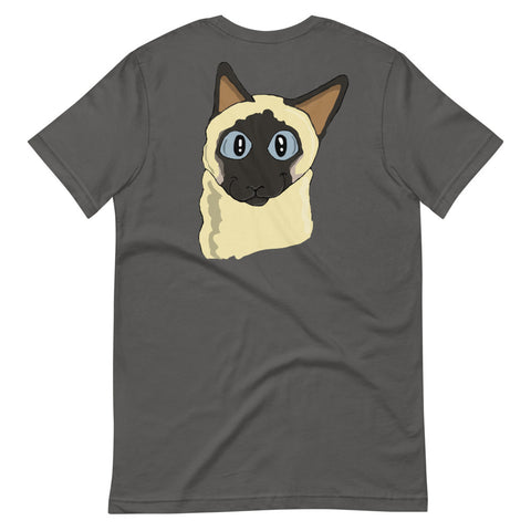 Siamese Cat Short-Sleeve Unisex T-Shirt