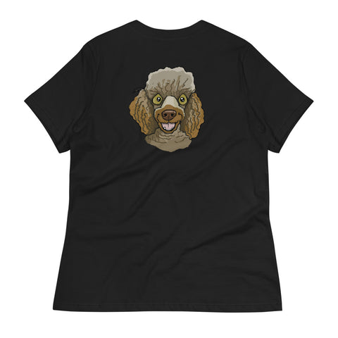 Chocolate Miniature Poodle Women's Relaxed T-Shirt