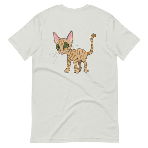 Orange Tabby Cat Short-Sleeve Unisex T-Shirt