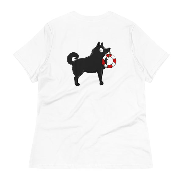Schipperke With Tail Women's Relaxed T-Shirt