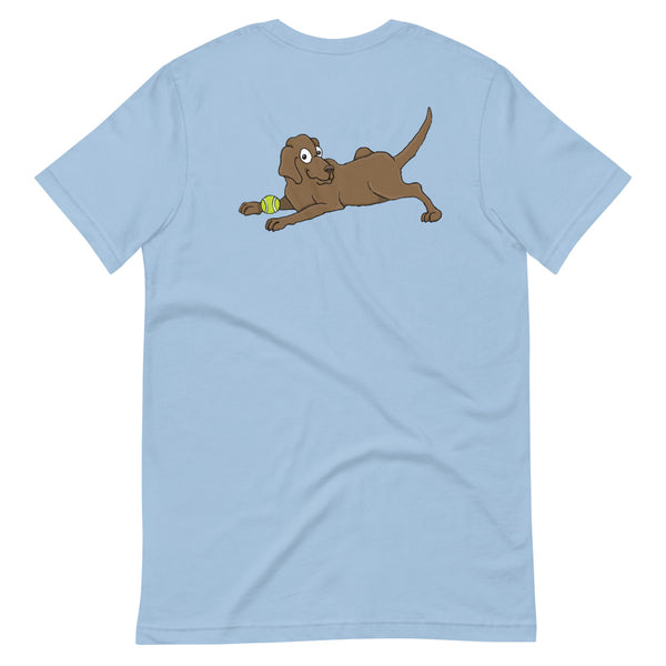 Chocolate Labrador Retriever Short-Sleeve Unisex T-Shirt