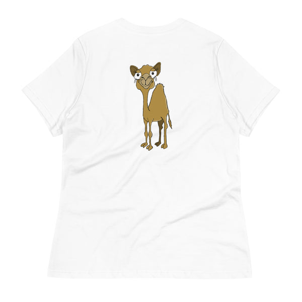 Camel Women's Relaxed T-Shirt