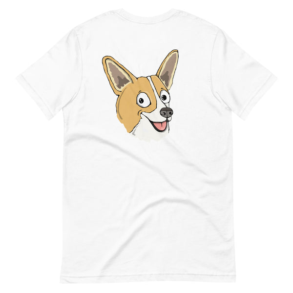 Sable Corgi Short-Sleeve Unisex T-Shirt