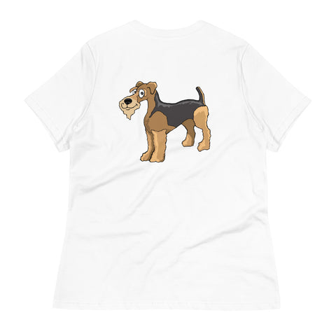 Airedale Terrier Women's Relaxed T-Shirt