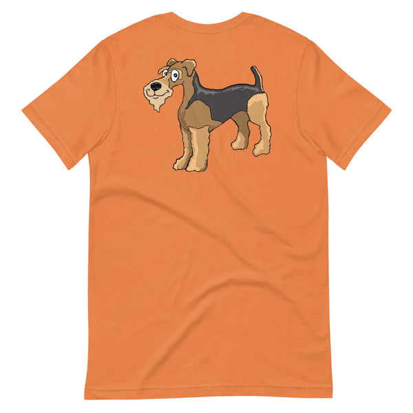 Airedale Terrier Short-Sleeve Unisex T-Shirt