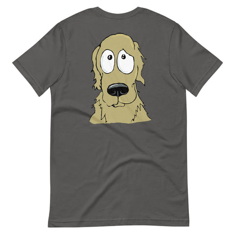 Golden Retriever Short-Sleeve Unisex T-Shirt