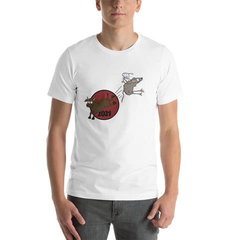Hello 2021 Year of the Ox! Bye-bye 2020 Year of the Rat! Unisex T-Shirt