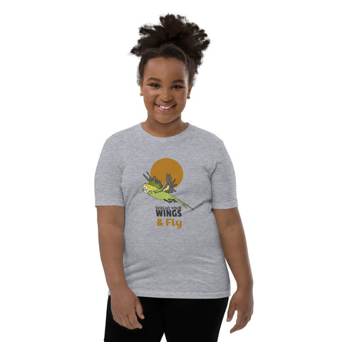 Youth Fly Budgie T-Shirt