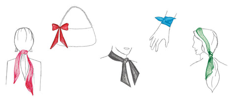 styling your skinny scarf