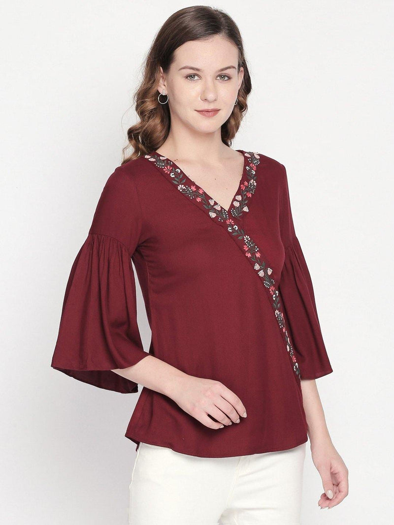 Western wear fashion top by mesmerize India