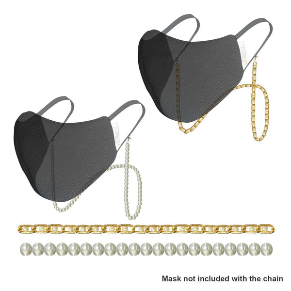 Pearl Chain for Masks - Mesmerize India