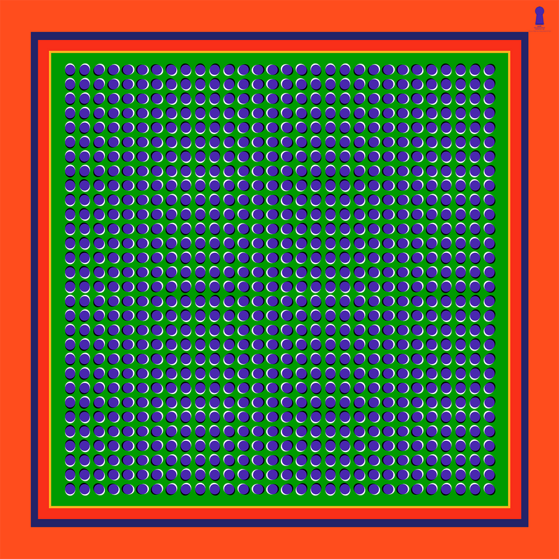 Anomalous Motion Illusion - griant orange