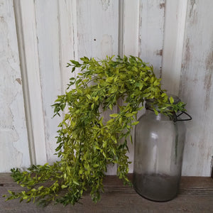 Lemon Green Hanging Artificial Greenery - 33 inches - sola wood flowers wholesale