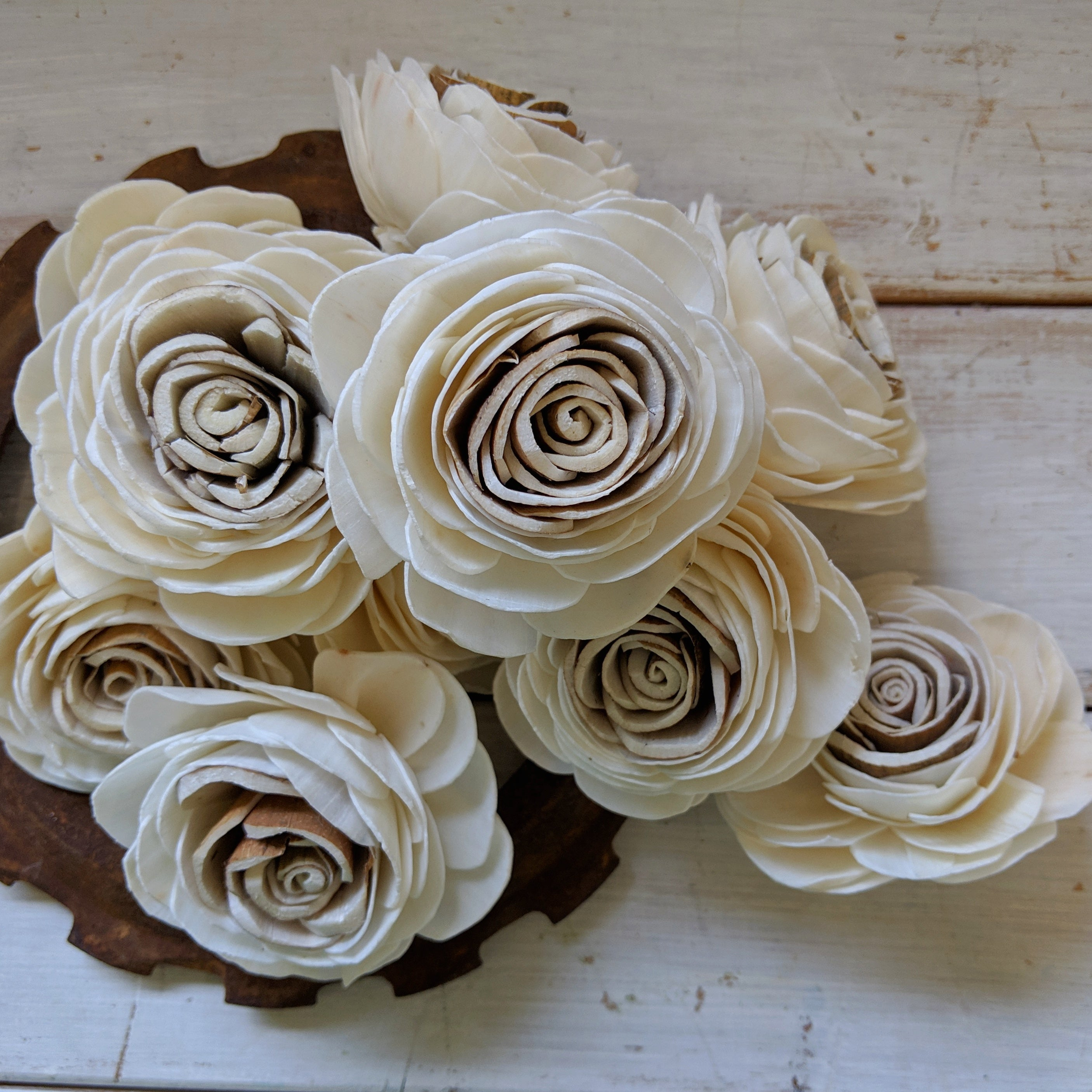 Harvest Rose - Multiple sizes available - sola wood flowers wholesale