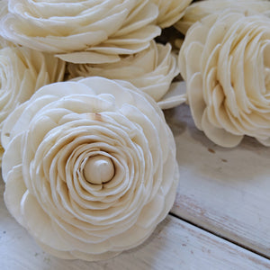 Ranunculus - Multiple Sizes - sola wood flowers wholesale