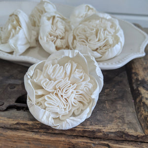 Juliet Rose- set of 12 - multiple sizes - sola wood flowers wholesale