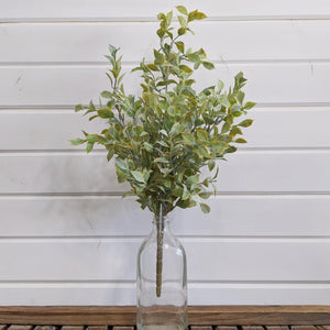 Laurel Bush- faux - sola wood flowers wholesale