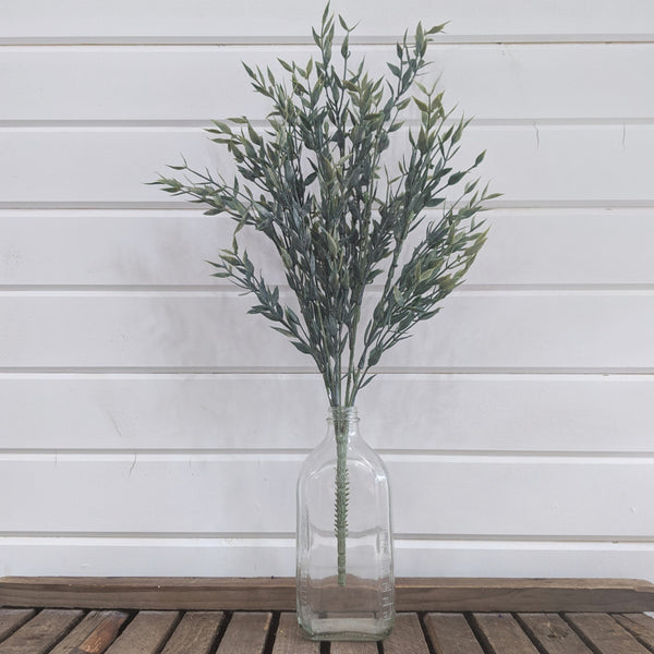 Italian Ruscus stem Artificial Greenery - 21 inches - sola wood flowers wholesale