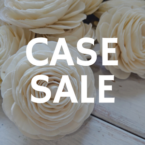 Case Sale - Ranunculus 2.5 Inches - 1000 Flowers