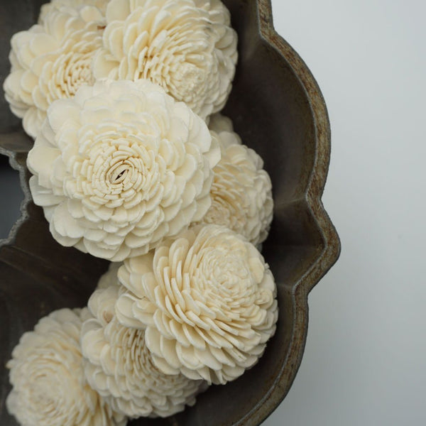 Marigold - Bulk Wholesale 100 Pack - sola wood flowers wholesale