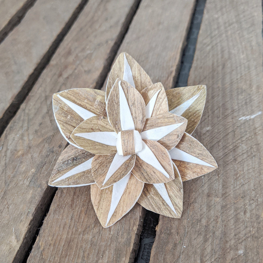 Atlas- set of 12 - 2.5 inches - sola wood flowers wholesale
