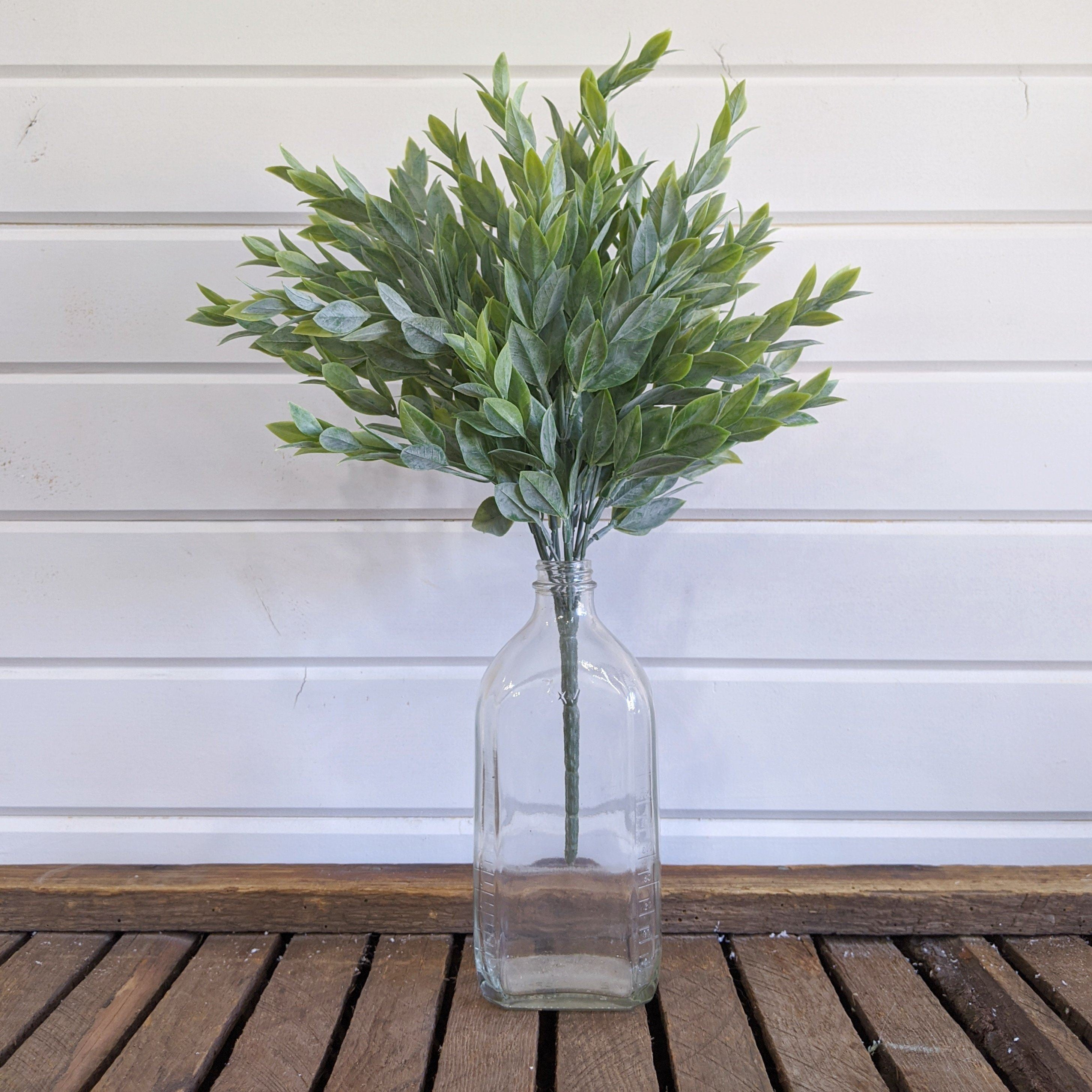 Large Ruscus Leaves- Artificial Greenery - 14 inches - sola wood flowers wholesale