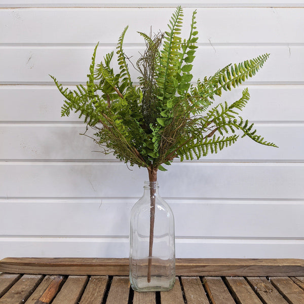 Forest Mixed Fern - faux - sola wood flowers wholesale