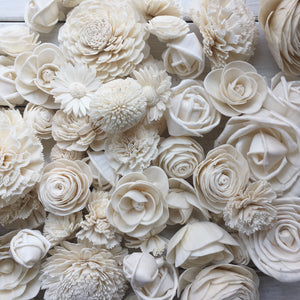 Classic Assortment- set of 50 - sola wood flowers wholesale