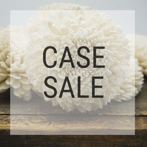 Case Sale - Zinny 2.5 inches - 1100 Flowers - sola wood flowers wholesale