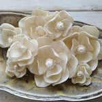 Magnolia- Size Assortment- Set of 50 - sola wood flowers wholesale