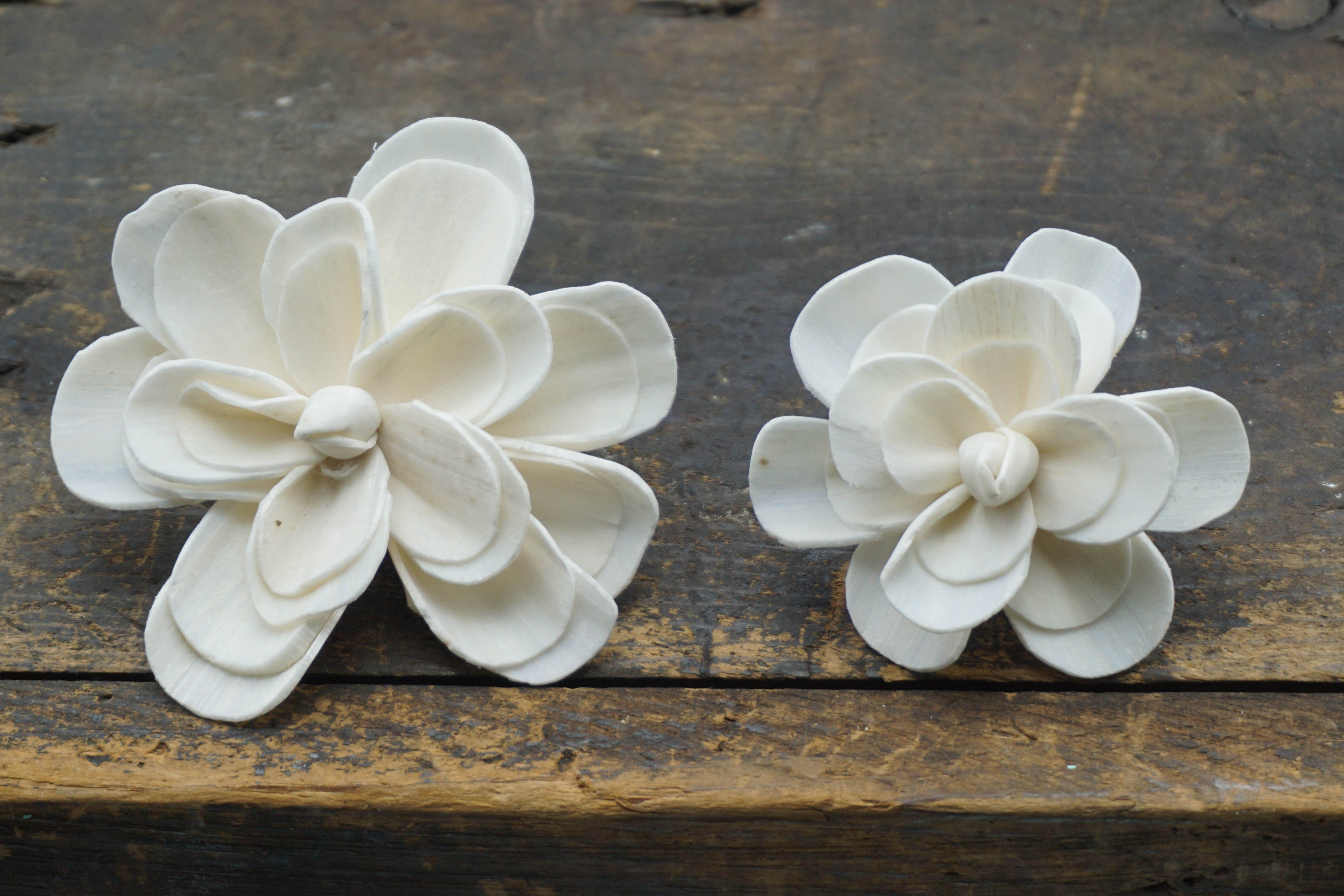 Alice Flower  - set of 12- multiple sizes available - - sola wood flowers wholesale