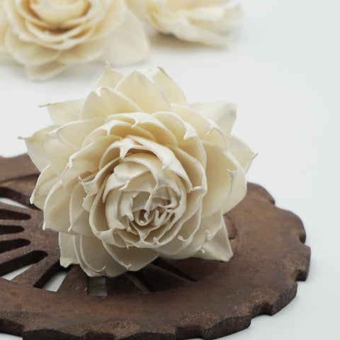 Garden Rose - set of 12- multiple sizes available - - sola wood flowers wholesale