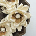 Hazel Flower  - set of 12- multiple sizes available - - sola wood flowers wholesale