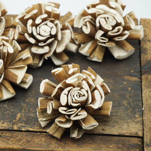 Twirl Flower - 2.5 inches- sold by the dozen