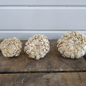 Spider Mum- 2.5 inches - Set of 12 - sola wood flowers wholesale