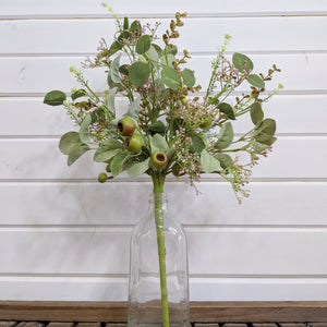 Spring Pod Mixed Greenery- Artificial Greenery - sola wood flowers wholesale