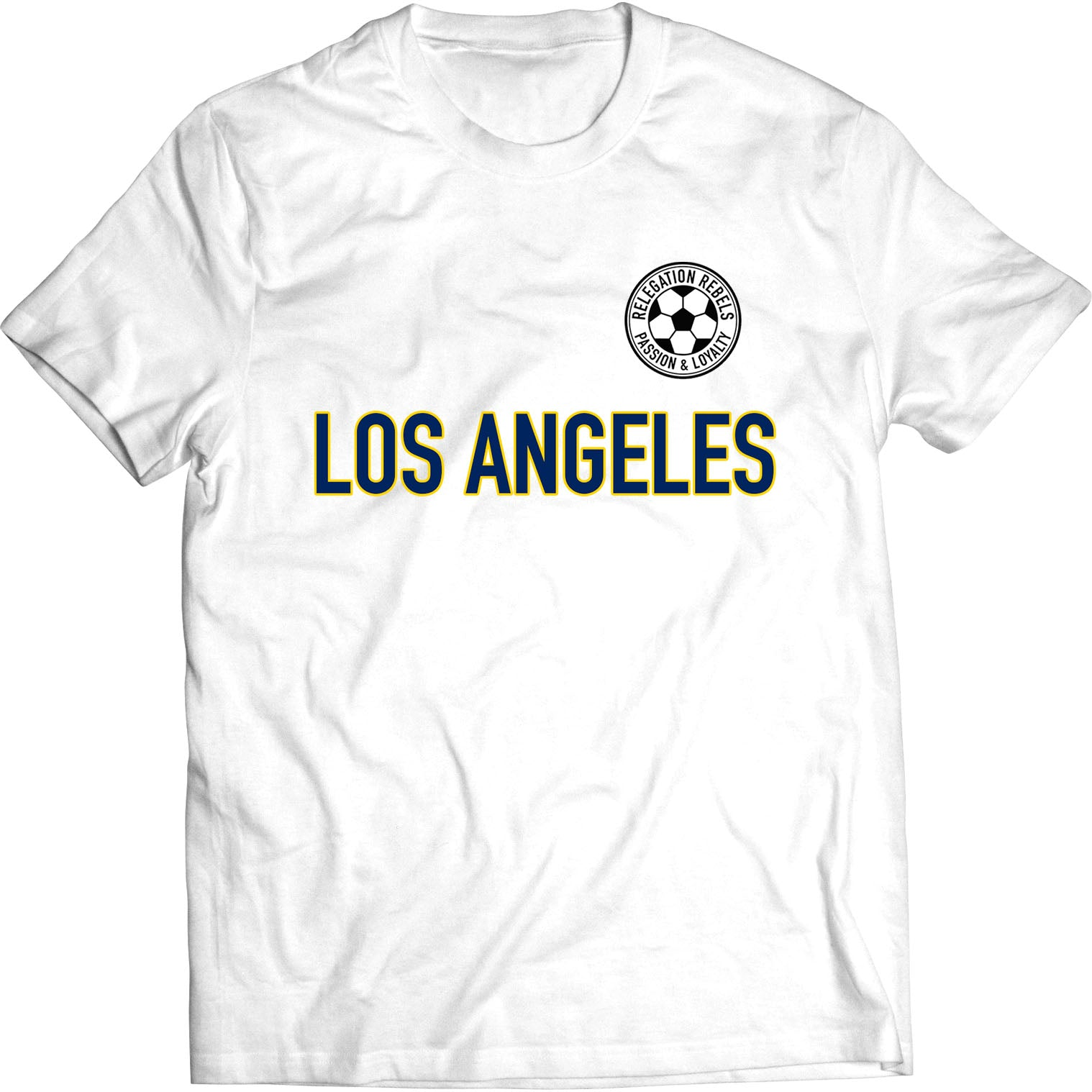 Los Angeles - Blue and Gold Tee - Relegation Rebels