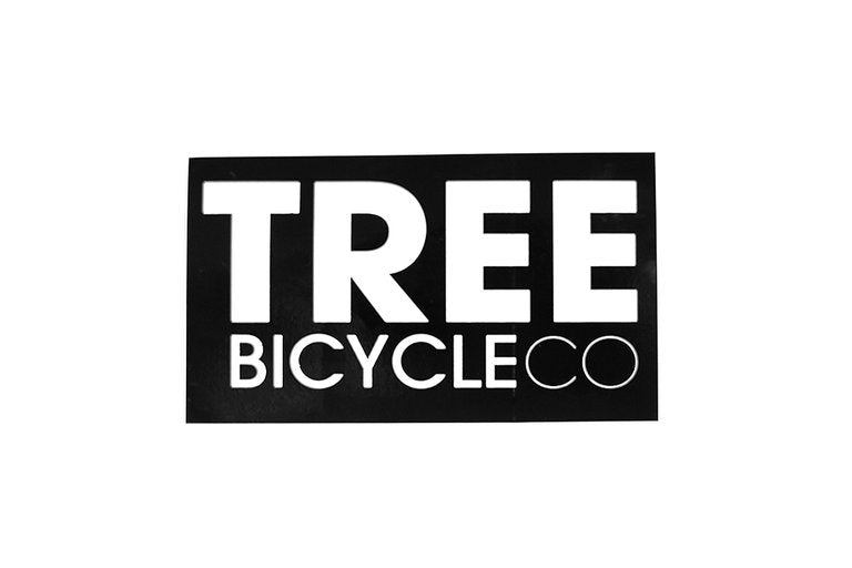 Tree Logo Sticker