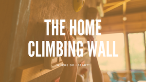 The Home Climbing Wall: Where do I start?