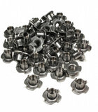 "T-Nuts - 4 Pronged (Short Barrel) - 50 Pack - 3/8-16"" x 7/16"""