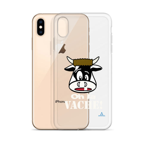 "Housse iPhone ""OH LA VACHE"""