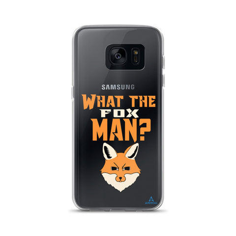 "Housse Samsung ""WHAT THE FOX MAN?"""