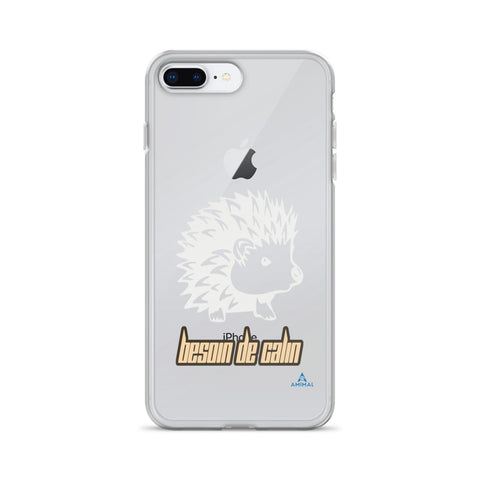 "Housse iPhone ""BESOIN DE CALIN"""