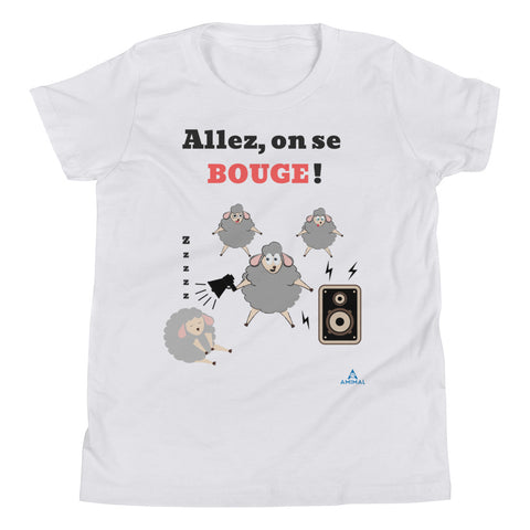 "T-Shirt Adolescent ""ON SE BOUGE"""