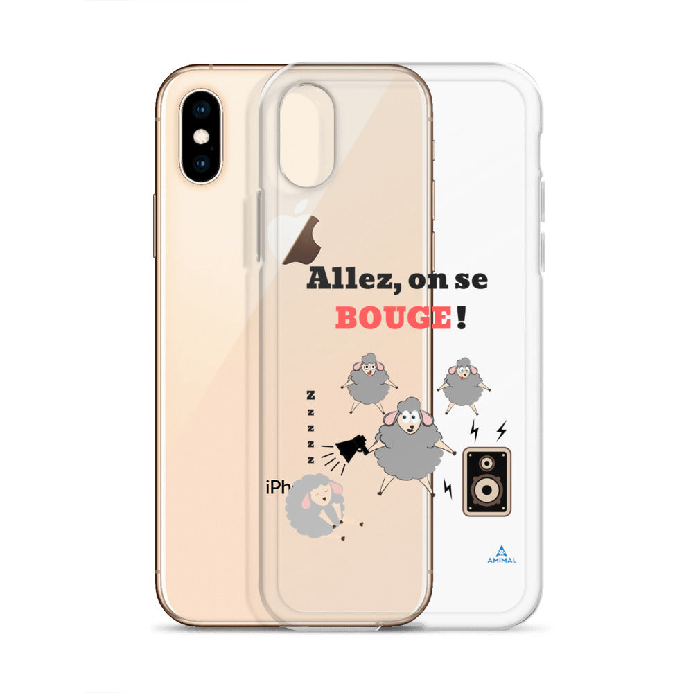 "Housse iPhone ""ALLEZ ON SE BOUGE"""