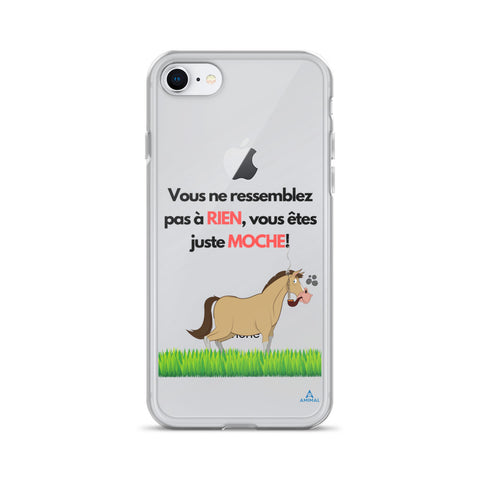 "Housse iPhone ""TU ES MOCHE"""